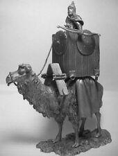 SOLDATINO di piombo, combattere cammello, raro da collezione, dettagliata