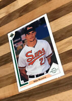 Mike Mussina 1991 Upper Deck Top Prospect #65 Baltimore Orioles