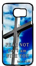For Samsung Galaxy Note5/4/3/2 Cross Christian Bible Verse Sky Back Cover Case