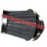 Chrome Air Filter Cleaner W/ Clamp For Honda Trx 250 Trx250 Recon Trx250ex Atv