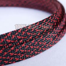 8mm High Densely Tight Braided PET Expandable Sleeving Cable Wire Sheath
