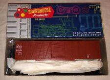 HO SCALE ROUNDHOUSE 50' EXT. BRACE BOXCAR SINGLE STEEL DOOR 2103 MILWAUKEE NEW