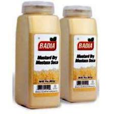 BADIA - Dry Mustard Powder 16 oz / 1 lb (2 PACK) - Mostaza Seca