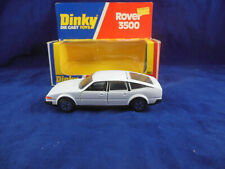 Dinky toys 180 Rover 3500 in White  1:36 Scale