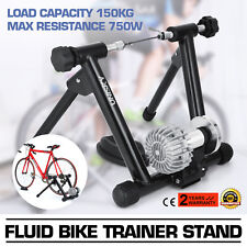 Indoor Bike Turbo Trainer Stand Fluid Cycling Popular Exercise 750w Foldable