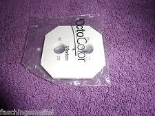 MERTEN Octocolor Zentralplatte für SAT TV 2Loch *NEU* ~Paket 74~ polarweiß
