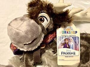 Build-A-Bear Disney Frozen 2 Sven Reindeer Plush BAB Build A Bear NWT Unstuffed