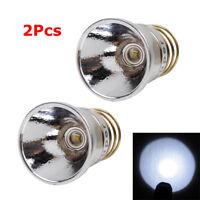 2Pcs 350 Lumen Q5 LED Bulb Conversion for SureFire 6P 9P solarforce L2/L2N