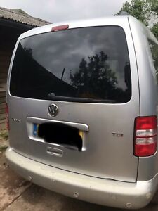 VOLKSWAGEN CADDY TAILGATE BOOT MK3 2K 2003 TO 2015 5DR MPV SILVER  COMPLETE