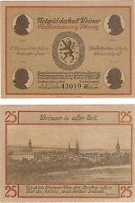 Germany 25 Pfennig 1921 Notgeld Weimar UNC Banknote - UK Seller
