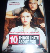 10 Ten Things I Hate About You (Heath Ledger) (Australia Region 4) DVD – New