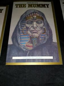 Anne Rice's THE MUMMY or Ramses the Damned#1MT/NM+,Oct.1990, BEST COPY ON EBAY👈