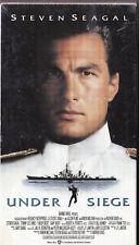 Under Siege (VHS, 1993) Steven Seagal, Tommy Lee Jones, Gary Busey, - Navy, Sea