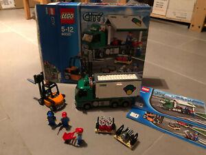 LEGO City LKW mit Gabelstapler