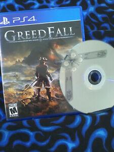 Greedfall PS4 Sony PlayStation 4 Great Shape!