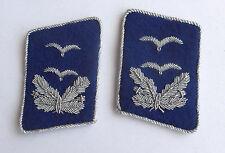Luftwaffe Paar Kragenspiegel eines Oberarztes der Fliegertruppe