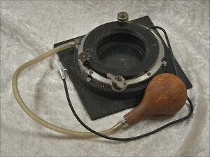 collector's item: behind-the-lens shutter / Zentral-Hinterlinsenverschluss