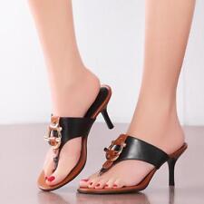 Womens Flip Flops Sandals Slipper Stilettos Heels Formal Dress Shoes Sandals New