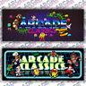 Multicade Retro Series Arcade Cabinet Game Graphic Artwork Marquee