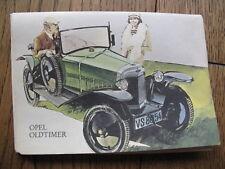 Ansichtskarten Mappe Opel Oldtimer