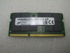 Micron 16GB PC3-12800 DDR3-1600 ECC Reg SoDimm MT36KSS2G72RHZ-1G6E1 4RX8 Server