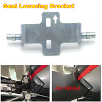 Lowered Lowering Bracket For BMW R1200GS ADV R1200RT 2008-2017 Rider Seat 10mm