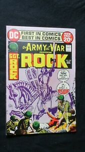 OUR ARMY AT WAR SGT ROCK #247 (July 1972 DC Comics)