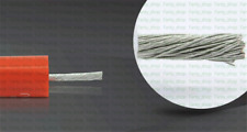 1M OD 10mm 50KV 4mm² (~11AWG) DC High Voltage/Temperature 200° Wire Cable VF14CH