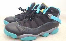 Nike Air Jordan 6 Rings Gamma Blue sz 9.5 preowned basketball shoes