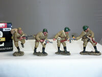 KING AND COUNTRY RA08 RUSSIAN RED ARMY PATROL WITH SERGEANT TOY SOLDIER SET
