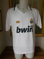 Maillot foot football Real Madrid BWIN taille L