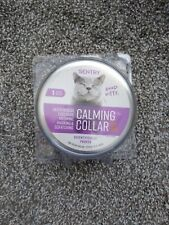 """1 Sentry Calming Collar For Cats 30-Day Collar ~ fits up to 15"""" Neck"""