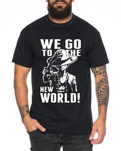 New World Zorro One Manga Herren Ruffy T-Shirt Anime Piece
