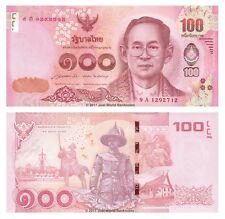 Thailand 100 Baht 2015 King Rama P-127 Banknotes UNC