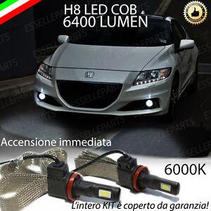 LAMPADE H8 A LED FENDINEBBIA 6400 LUMEN HONDA CR-Z 6000K ULTRALUMINOSI