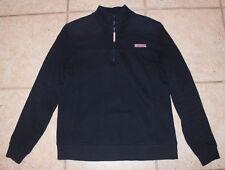 Vineyard Vines Womens XS Navy Quarter Zip Shep Shirt