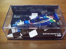 1/43 BENETTON RENAULT B197 Alex Wurz 3rd British GP SILVERSTONE 1997