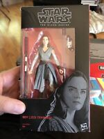 Star Wars Rey Jedi Training Action Figure The Black Series #44 Collectible