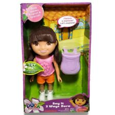 Fisher-Price Dora The Explorer Say It 2 Ways Dora Doll English Spanish 2013 New