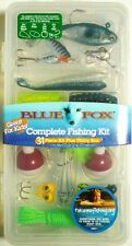 COMPLETE FISHING KIT 31 Piece & Utility Box, FREE KNIFE