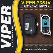 Viper 7351V 2-Way LCD Remote Control And Leather Case Combo For The Viper 5301