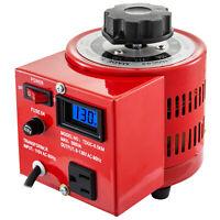 500VA Variable Transformer With Digital Display LCD 110V Power Supply 0-130V