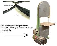 Bandsägeblatt für DDR Bandsäge E 750 A/D 1000 A (6 und 10mm)