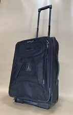 "Travelpro Crew 4 Black 20"" Upright Wheeled Carry On Suitcase Style 7120"