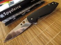 Spyderco C195CFP Southard Positron Flipper Carbon Fiber knife Discontinued NEW