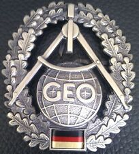 ✚0500✚ German Bundeswehr beret cap badge MILITARY TOPOGRAPHER Topographie
