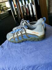 TEVA women's lace-up Walking/Running/Water shoes/sneakers Size 7 blue & Gray