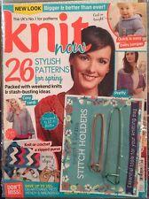 Knit Now Stylish Patterns Free Stitch Holders Lace Shawl #45 2015 FREE SHIPPING!