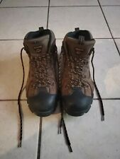 WOLVERINE Mens Hudson ST EH Brown Leather Hiking Boots Shoes Size 11 F11-185