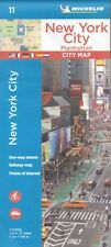 Michelin New York City: Manhattan Street Map *FREE SHIPPING - NEW*